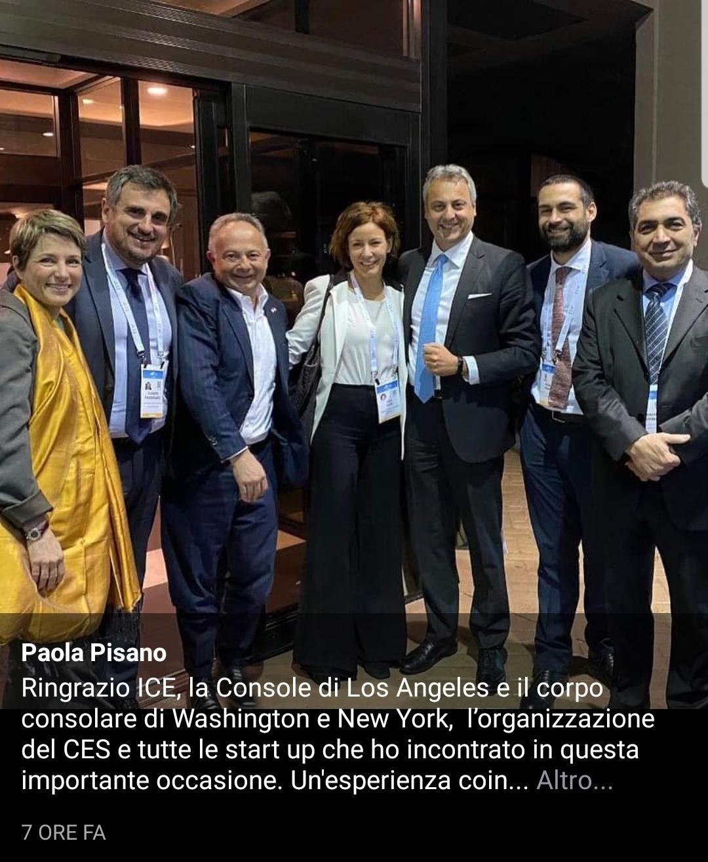 Ministro Paola Pisano CES 2020