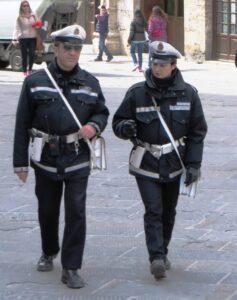 Polizia Municipale in divisa