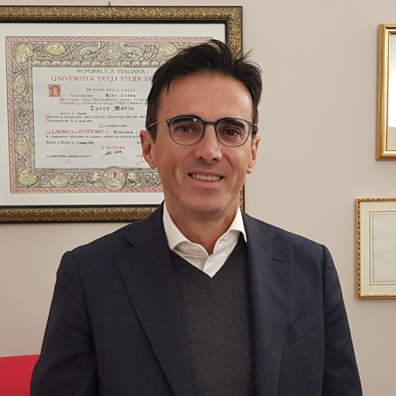 Sen. Mario Turco Sottosegretario di stato alla Presidenza del Consiglio dei Ministri