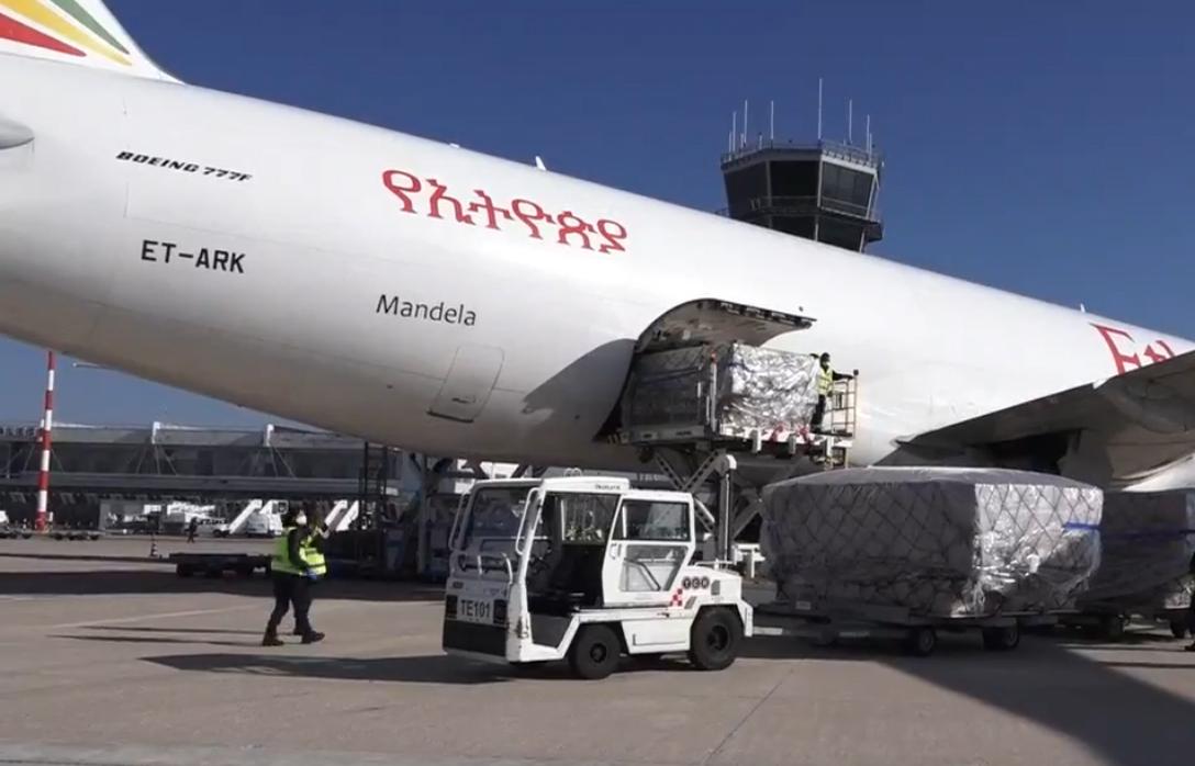 volo-Cina-Bari consegna DPI