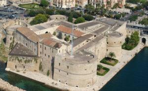 castello aragonese Taranto Marina Militare