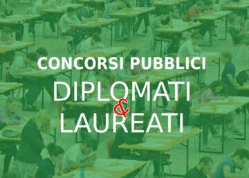 concorsi pubblici diplomati e leaureati