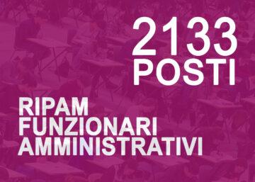 RIPAM_CONCORSI_2133 funzionari amministrativi